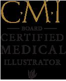 Board Certified Medical Illustrator Logo